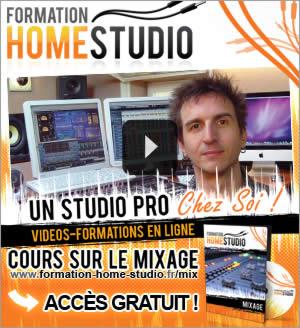 Formation Home Studio: Vidéo-Formation Gratuite sur le Mixage